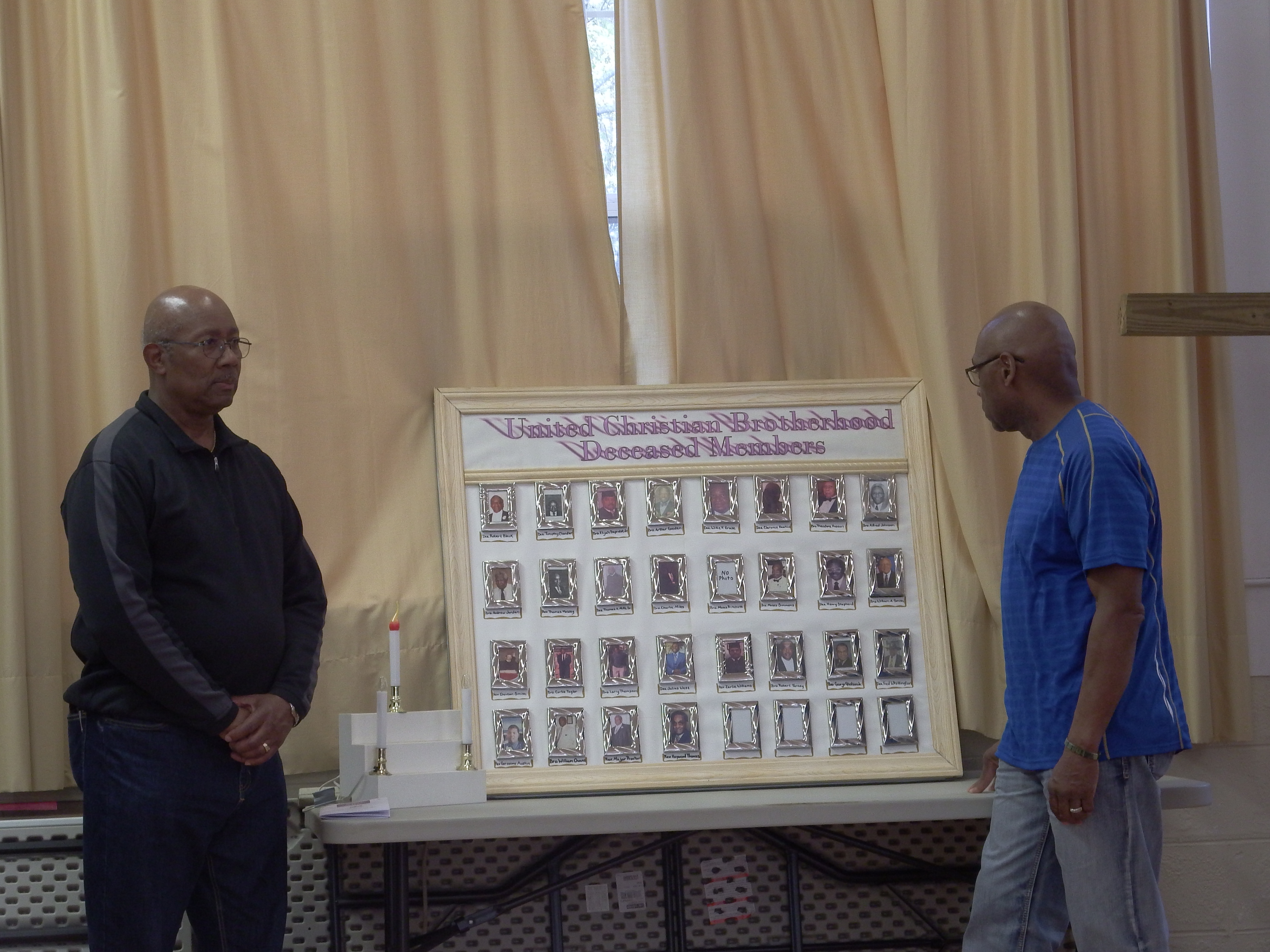 Tribute to our deceased members