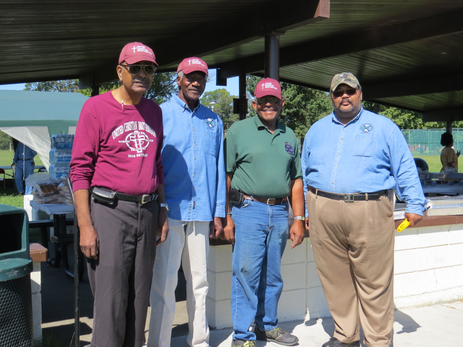 UCB Men Participants at 2017 Family Day