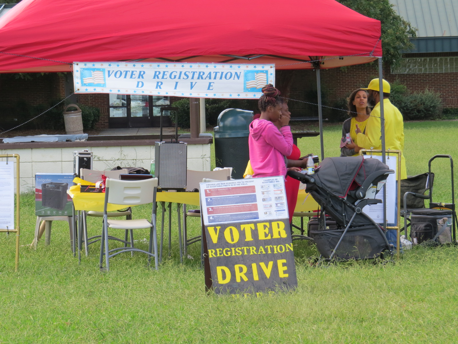 Voter Registration at the 2017 Family Day